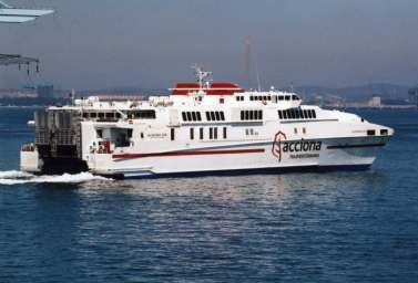 billet de bateau Maroc: Almeria, Nador...Acciona Transmed Comanav, Comarit, Biladi, Séte, Tanger