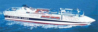 billet de bateau Maroc:Gêne (Genoa) - Tanger - Gêne (Genoa) Grandi Navi Comanav, Comarit, Biladi, Séte, Tanger, Almeria